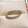 1.17ctw French Cut Diamond 7-Stone Band 9