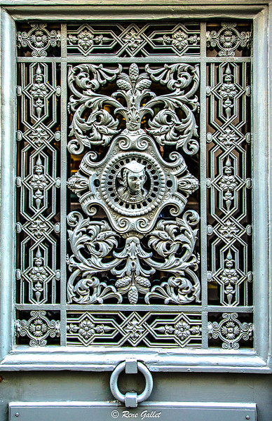 Paris Iron Door