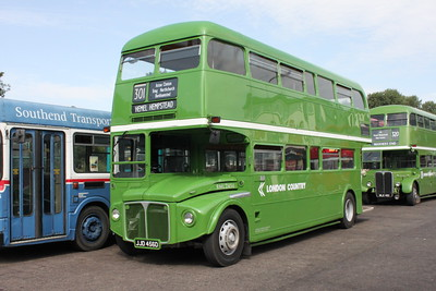 London Country and London Greenline Bus Routes
