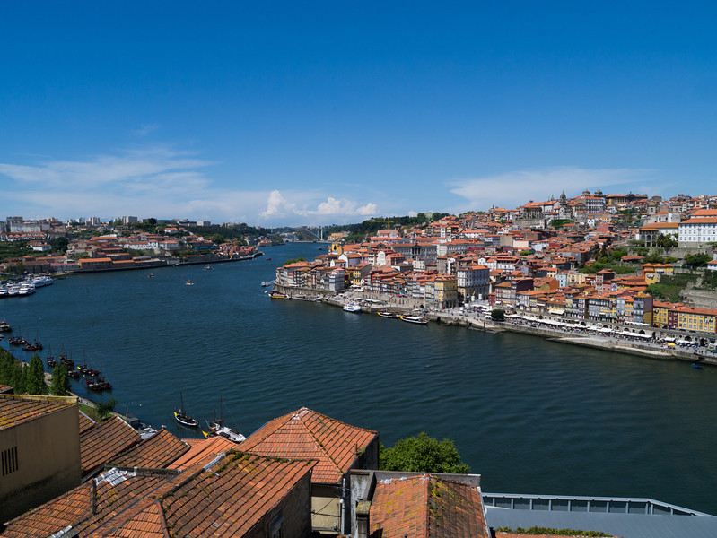 View over Porot and the Douro River
