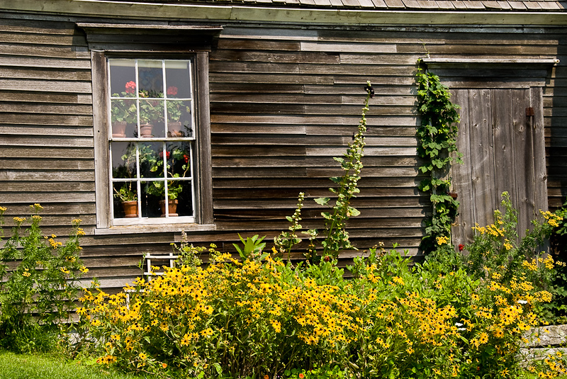 Exterior view of the Olsen House - Cushing, Maine.