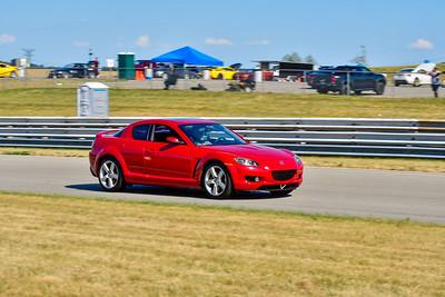 2020 SCCA TNiA July 29th Pitt Race Red RX8