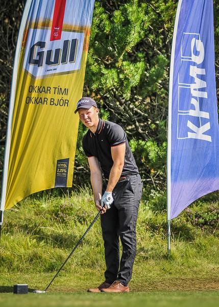 GKG, Fannar Ingi Steingrímsson Íslandsmót í golfi 2019 - Grafarholt 2. keppnisdagur Mynd: seth@golf.is