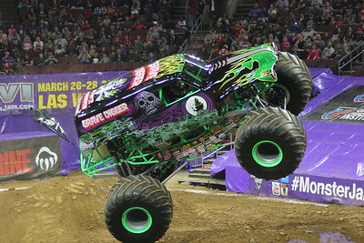 10-03-14 Wells Fargo Monster Jam