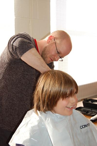Hughs Haircut