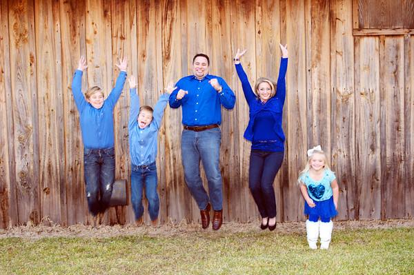 Cory, Lori, and kids