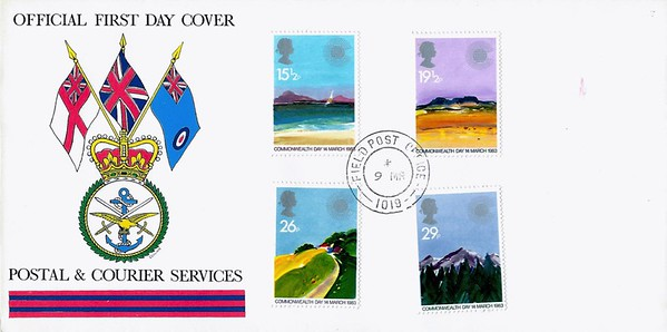 Official First Day Covers - Postal & Courier Services