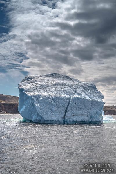 Iceberg 9 Close    Photography by Wayne Heim