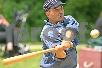 5/25/2009 - Old Time Baseball @ Old Bethpage Village Restoration, Old Bethpage, NY
