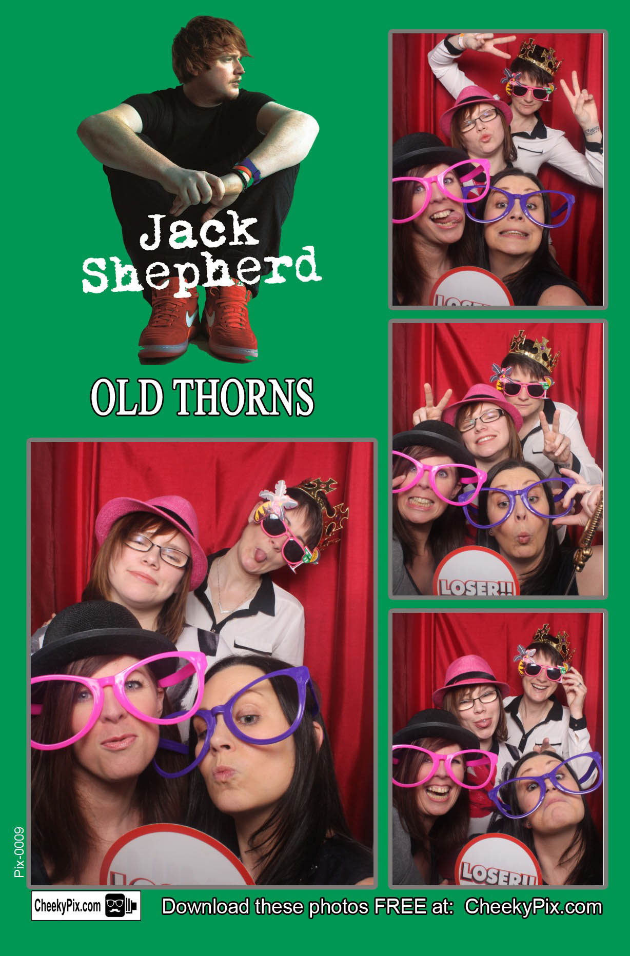 tribute night photobooth hire