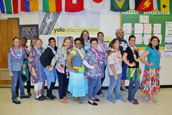 Hawaiian Day SV Spirit Day 10-4-2018