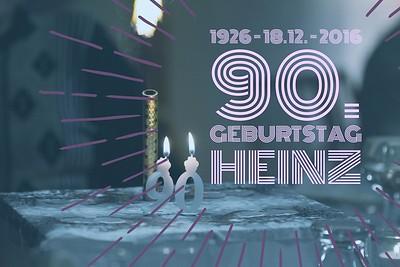 90. Geburtstag Heinz