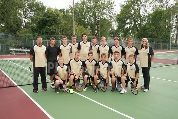 BHS Boys Tennis 2014-2015