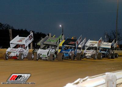 Lincoln Speedway - 10/7/17 - Lee Greenawalt