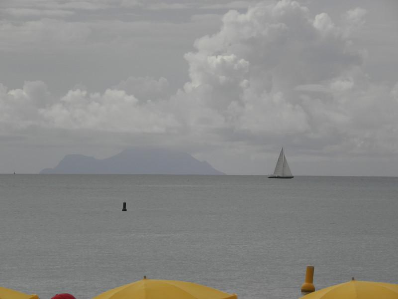 The island of Saba, 30 miles away.JPG