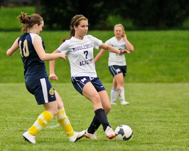 05-02-2011 Girls Soccer vs John Paul the Great