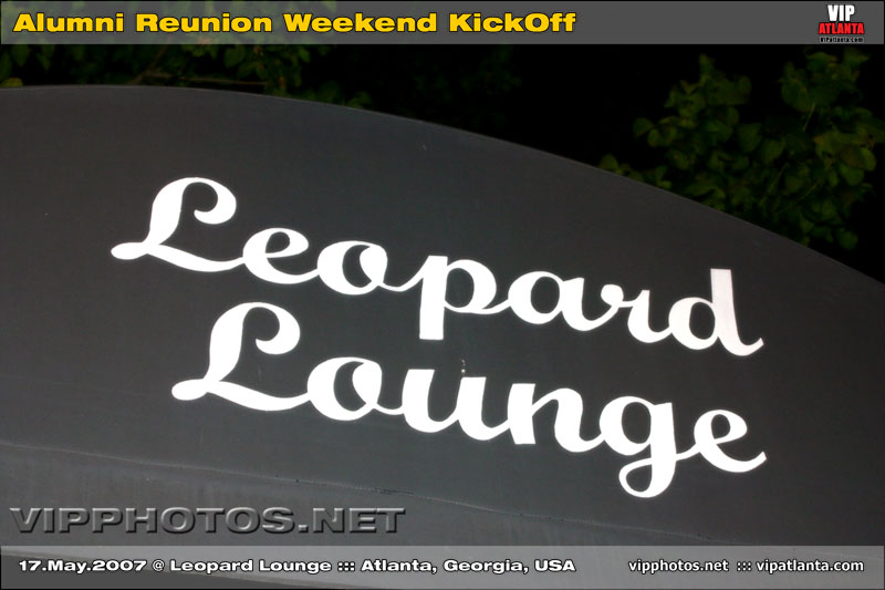 Alumni Reunion Weekend Kickoff @ Leopard Lounge ::: ATL, GA, USA [May.17.2007]