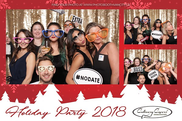 Culinary Capers - Holiday Party 2018