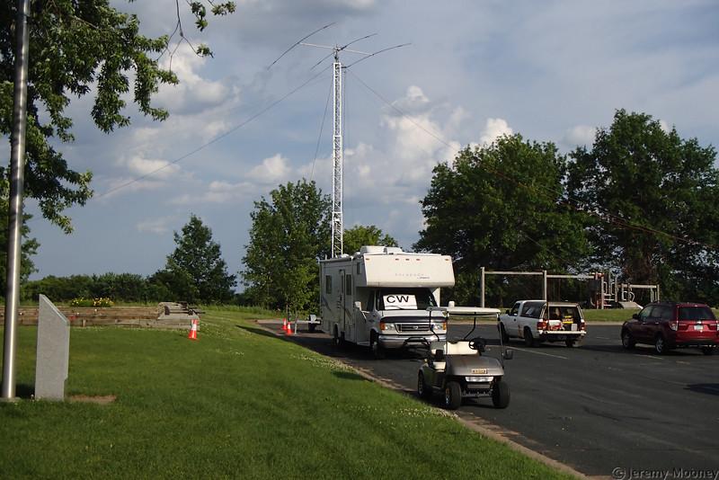 W0MR/K0AGF Field Day - CW station