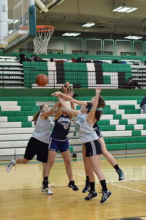 GIRLS BASKETBALL GAME SHOTS -  V/JV  SPHS/MENDHAM H S  12-11-2013