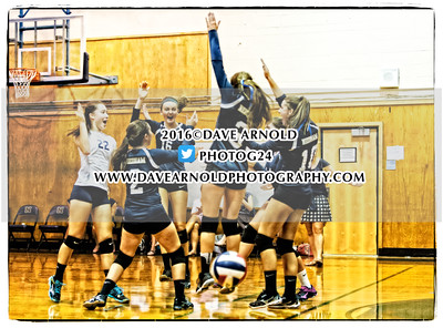 9/20/2016 - Girls Varsity Volleyball - Needham