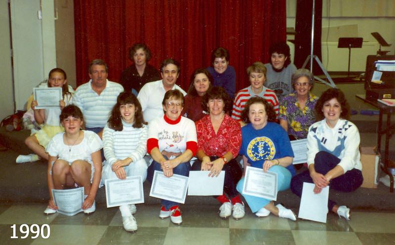 Blossom Hill Cloggers 1990 Graduates