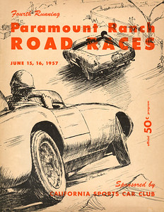 1957, June 15-16, Paramount Ranch Road Races