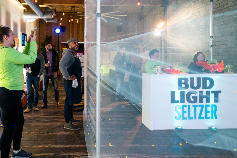Bud Light Seltzer Launch at Within SoDo