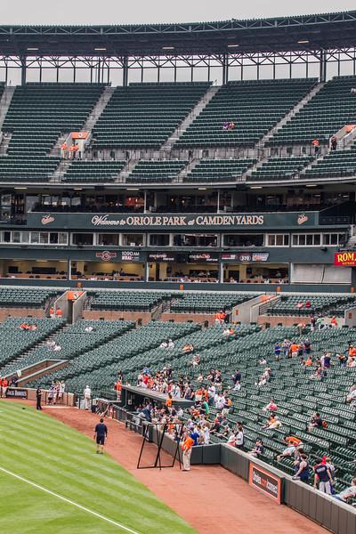 5-12-14 Detroit Tigers 4, Baltimore Orioles 1, Camden Yards