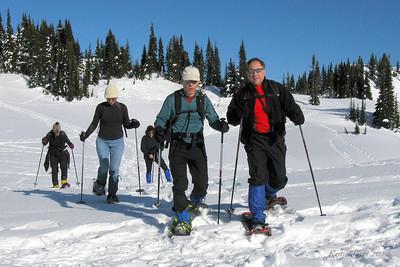 Mt Rainier - Paradise - 2/21/2010 Snowshoe
