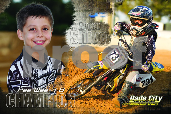 Dade City MX 2012 Champions Posters