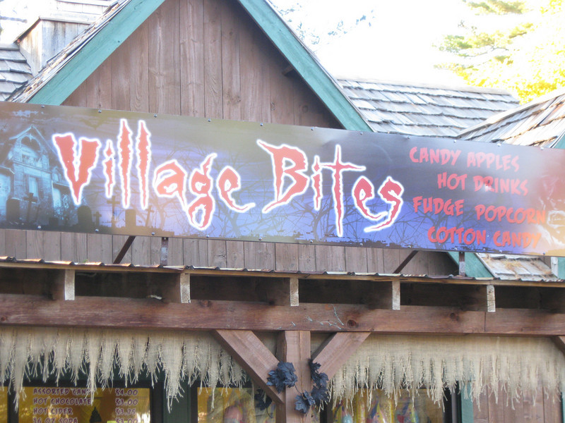 Lumberjack Ice Cream had been converted to Village Bites