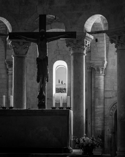 Abbazia di Sant'Antimo, Tuscany, Italy