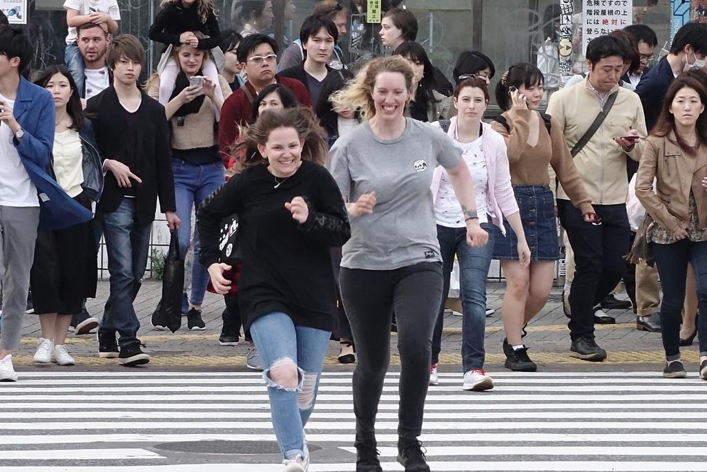 The Tokyo Shibuya Scramble