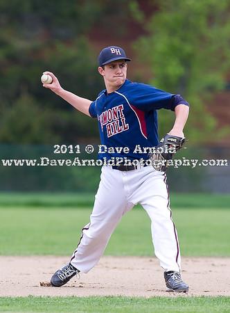 5/11/2011 - Varsity Baseball - Belmont Hill vs Nobles