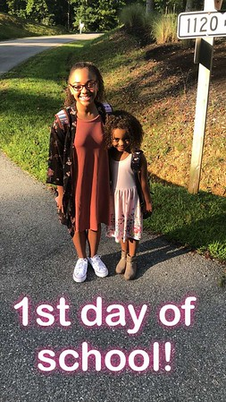 2018 August - First Day of School!