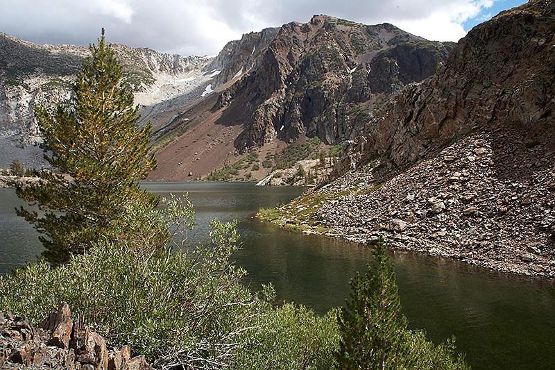 Ellery Lake, just outside of Yosemite National Park.