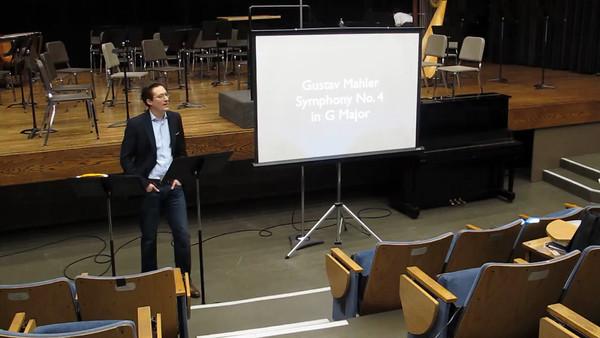 Elliot Moore: Mahler 4 Lecture