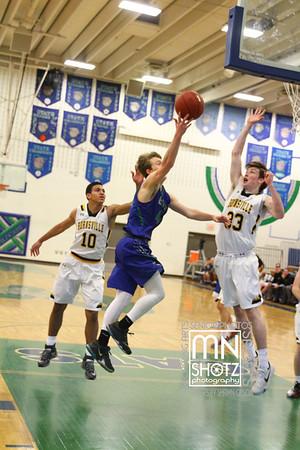 Boys Varsity Basketball vs Burnsville