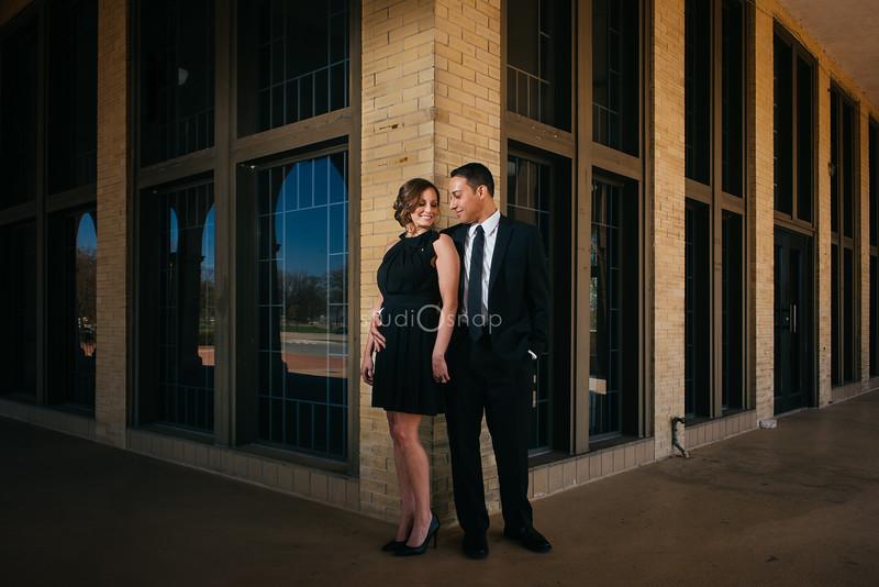 jessica + aaron | engagement | belle isle, detroit