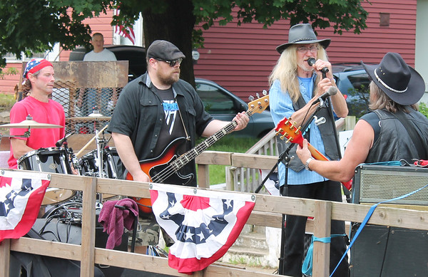 PHOTOS: Penndel-Hulmeville send Memorial Day message to the year 2075