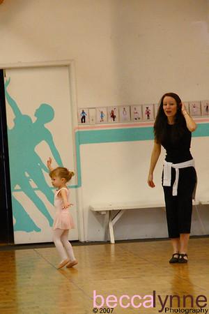 december 18. 2007 ballet class