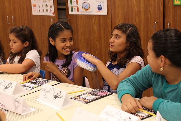 09-22-2014 Voigt hosts GirlStart program for 4th and 5th grade girls