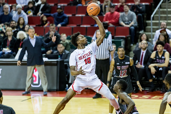 2017 Seattle U Men's Basketball vs New Mexico State