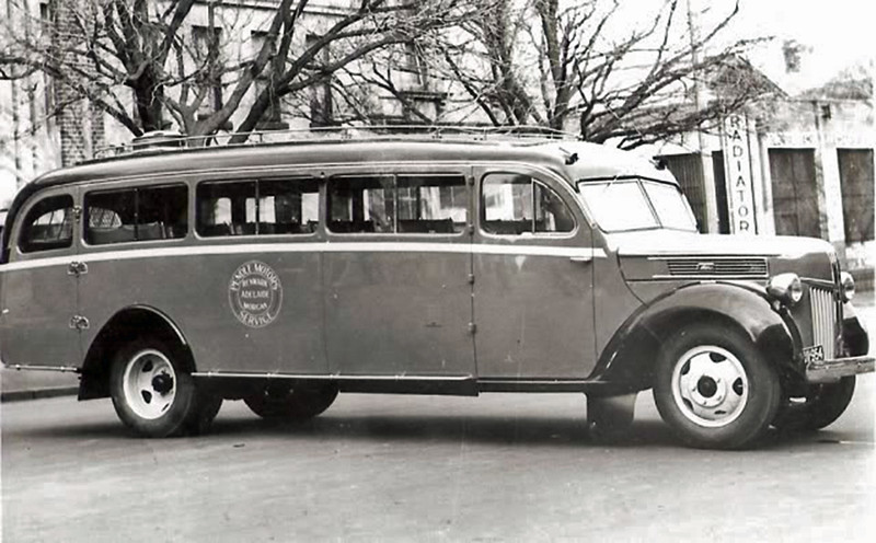 A C&B Bodied Ford V8. (Image from the Pendle Family Collection)