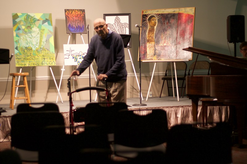 Cathedral art show 2015-11-13