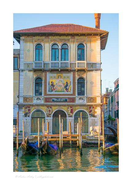 scenes along the Grand Canal, Venice, Italy