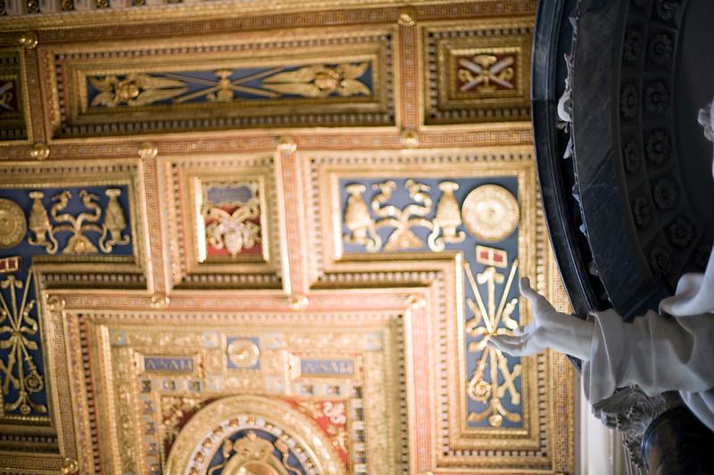 Detail from Saint John Lateran basilica, Rome