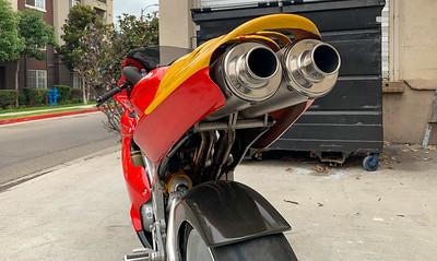 Bimota BB1 Supermono Racer on IMA