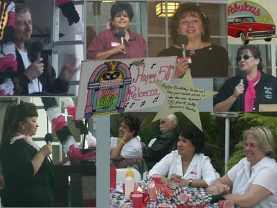 Rebecca's 50's Birthday Party